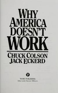 Why America Doesn't Work