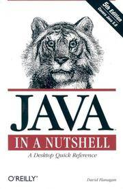 image of Java In A Nutshell, 5th Edition