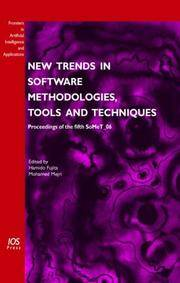 New Trends in Software Methodologies, Tools and Techniques : Proceedings of the Fifth SoMeT 06