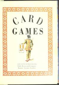 Card Games : Victorian Patience and Other Games, for One or More  Particioants