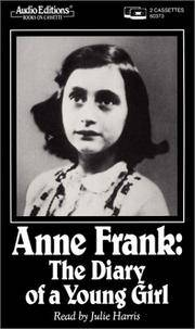 image of Anne Frank: Diary of a Young Girl (Audio Editions)
