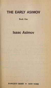 image of EARLY ASIMOV BOOK I