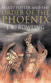 Harry Potter 5 and the Order of the Phoenix. Adult Edition
