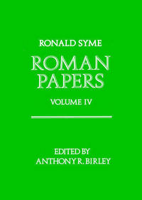 image of Roman Papers: V.4
