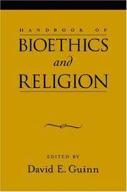 Handbook Of Bioethics And Religion - Used Books