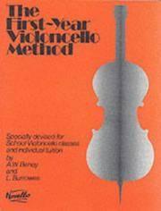 BENOY y BURROWES - The First Year Cello Method para Violoncello