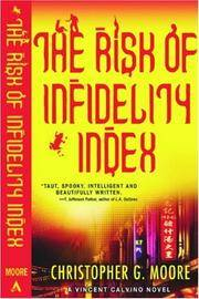 The Risk of Infidelity Index: A Vincent Calvino Crime Novel *Signed review copy*
