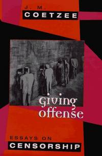 image of Giving Offense � Essays on Censorship