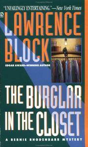 The Burglar in the Closet by BLOCK, Lawrence - 1997