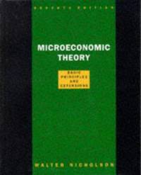 image of Microeconomic Theory: Basic Principles and Extensions (The Dryden Press series in economics)