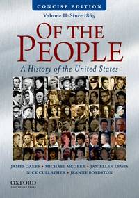 OF THE PEOPLE,CONCISE ED.-VOL.II