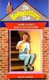 image of Mary Anne's Bad Luck Mystery: The Baby-Sitters Club #17