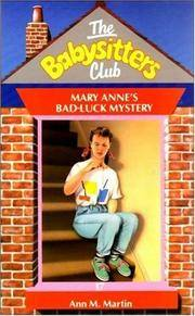 image of Mary Anne's Bad Luck Mystery (Babysitters Club)