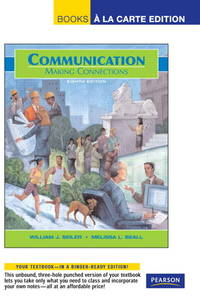 image of Communication: Making Connections, Books a la Carte Plus MyCommunicationLab (8th Edition)
