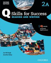 Q: Skills for Success Reading and Writing: Level 2 Student Book A