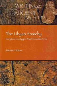 Inscriptions from Egypt's Third Intermediate Period (Writings from the Ancient World)