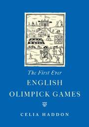 The First Ever English Olympic Games