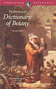 image of Dictionary of Botany (Wordsworth Reference)