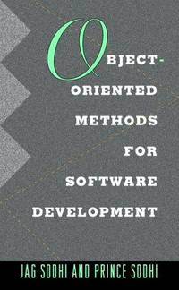 Object-Oriented Methods for Software Development