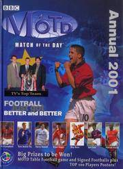 """B.B.C. """"Match of the Day"""" Annual 2001 (Annuals)"""
