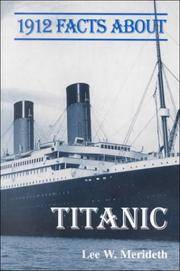 1912 FACTS ABOUT TITANIC    *SIGNED*