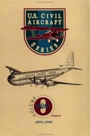 U.S. Civil Aircraft Series,Vol. 9 (U S Civil Aircraft)