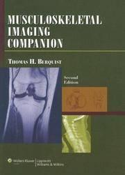 MUSCULOSKELETAL IMAGING COMPANION 2ED (PB 2006)