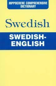 Hippocrene Comprehensive Dictionary  Swedish-English