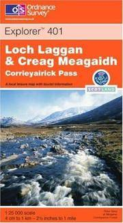 image of Loch Laggan and Creag Meagaidh (Explorer Maps)