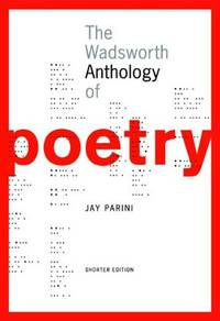 The Wadsworth Anthology of Poetry, Shorter Edition (with Poetry 21 CD-ROM)