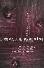 Remaking Planning: The Politics of Urban Change by  Gerry Yvonne & Stoker - Paperback - 2nd Edition - from EldoradoBooks and Biblio.com