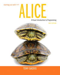 Starting Out with Alice (3rd Edition)