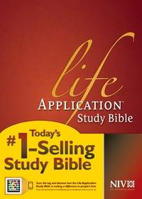 NIV Life Application Study Bible, Second Edition (Red Letter, Hardcover)
