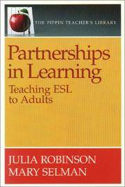 Partnerships in Learning: Teaching ESL to Adults (Pippin Teacher's Library)