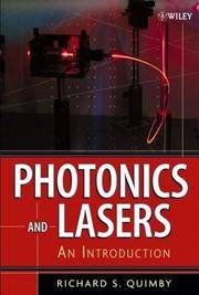 Photonics and Lasers: An Introduction (1st Edition)