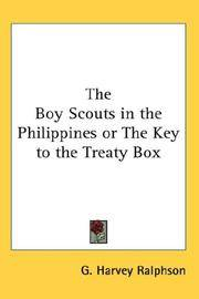 image of The Boy Scouts in the Philippines or The Key to the Treaty Box