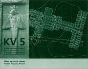 KV 5: A Preliminary Report on the Excavation of the Tomb of the Sons of Rameses II in the Valley...