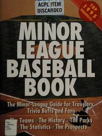 U. S. A. Sports Minor League Baseball Book : The First and Only Minor League Guide for Travelers,...