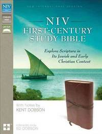 NIV, First-Century Study Bible, Leathersoft, Brown Explore Scripture in  its Jewish and Early...