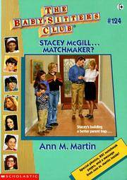 image of Stacey McGill...Matchmaker? (The Baby-Sitters Club #124)
