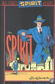 The Spirit Archives, Vol. 2  January 5 - June 29, 1941 by  Will Eisner - First Edition - 2000 - from Enterprise Books (SKU: 8515)