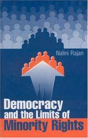 image of Democracy and the Limits of Minority Rights