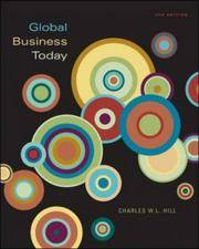 image of Global Business Today; 4th Edition