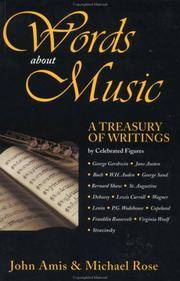 Words About Music: A Treasury of Writings