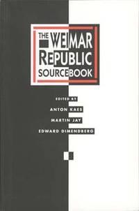 WEIMAR REPUBLIC SOURCEBOOK