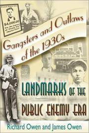Gangsters and Outlaws of the 1930's