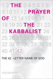 The Prayer Of the Kabbalist