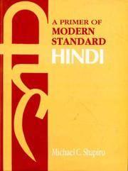 image of A Primer of Modern Standard Hindi