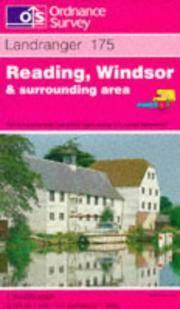 image of Reading, Windsor and Surrounding Area (Landranger Maps)