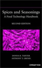 Spices and Seasonings: A Food Technology Handbook